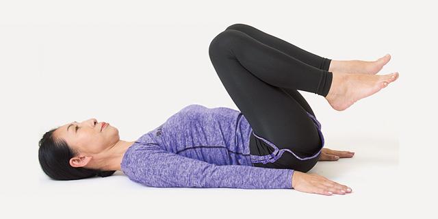 ひざ痛予防・解消に!寝たままスクワット/前新マミの寝たままリンパ体操