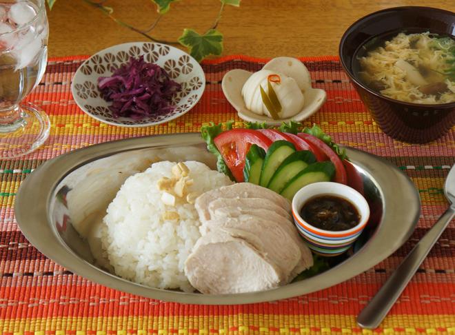 煮汁も鶏皮も使い切り! サラダチキンでシンガポールライスを【作ってみた】/モモ母さん