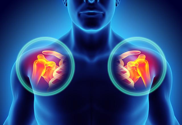 40~60代の約7割が感じる四十肩・五十肩。主に加齢による変化が原因です/四十肩・五十肩