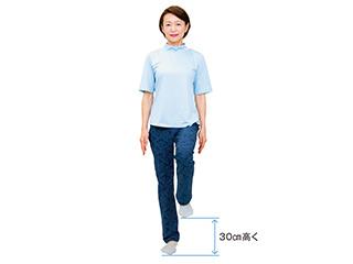 40代から心がけて! 骨を丈夫にする「60秒間の足踏み」のススメ/60秒骨たたき(4)