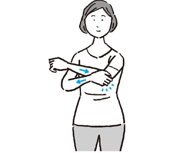 デスクワークばかりで体が固まりやすい。肩こり、腰痛解消ストレッチ/疲れないカラダ大図鑑