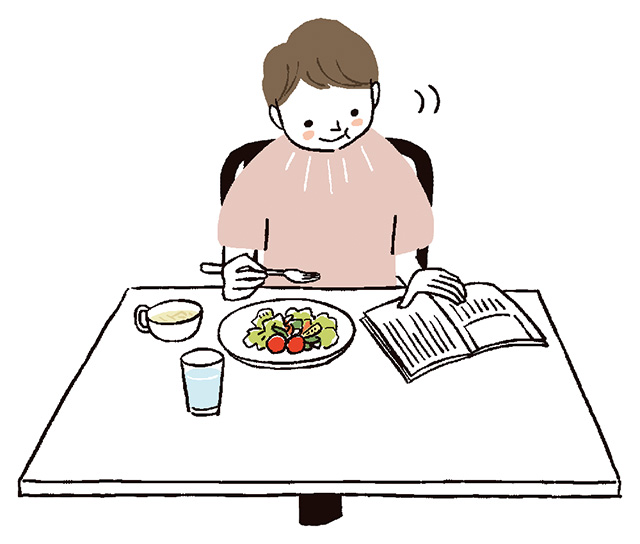 お皿は白より黒がいい!? すぐできる「脂肪が落ちる」食べ方のコツ8つと気をつけたい食べ方