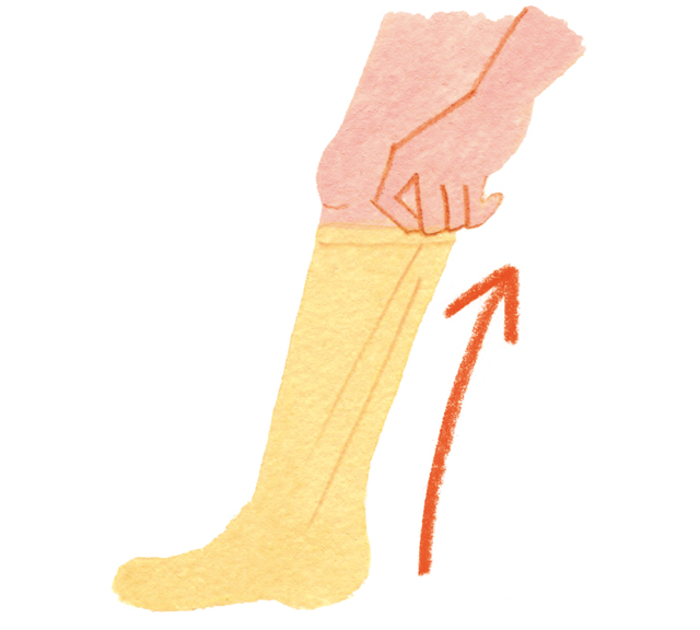 下肢静脈瘤の症状を軽減する「弾性ストッキング」をご存じですか?