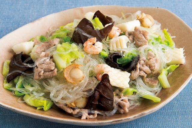 炒めて、混ぜて。夏の食欲をアップする「はるさめ」レシピ/親子で乾物