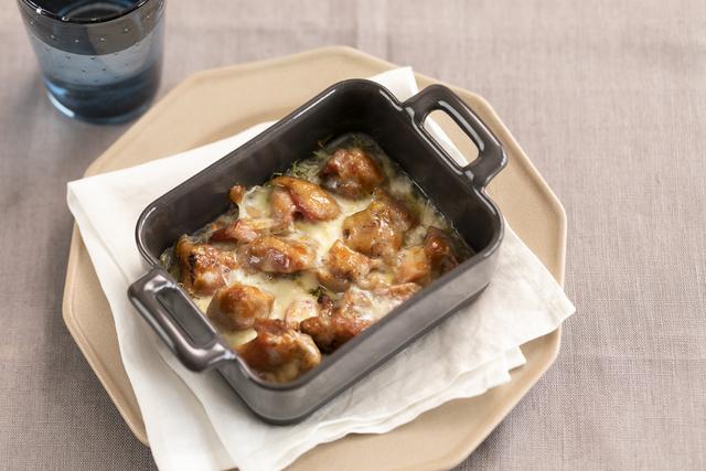 コンビニ食材でダイエットおかず「焼き鳥と野菜のチーズ焼き」/3Days糖質オフ