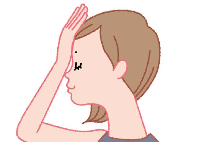 誤嚥防止に役立つ! 飲み込む力を鍛える「おでこ体操」「頭持ち上げ体操」/口と歯