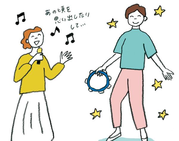 脳の認知機能を高めてくれます。認知症予防に「楽器や歌」のススメ