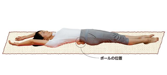 腰椎をまっすぐに戻す!「あおむけボール体操」/腰椎分離症・すべり症を体操で治す!