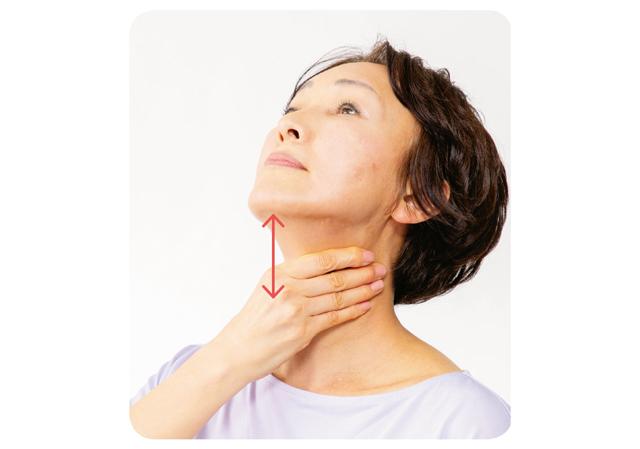 首筋を優しくほぐして高血圧予防♪「首」の血管マッサージ