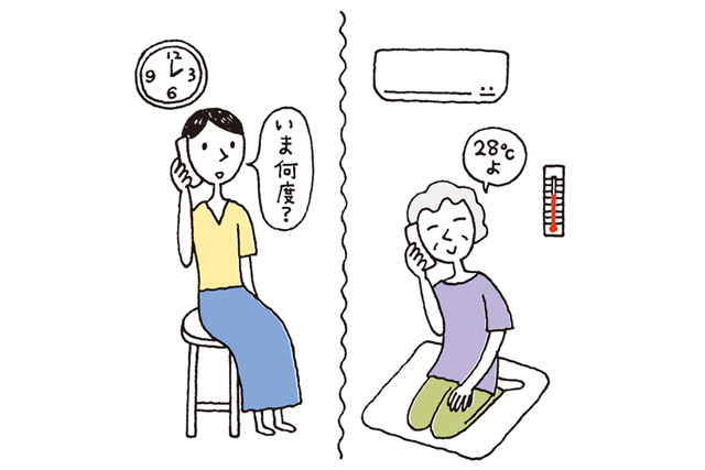 高齢の親の熱中症予防に!「毎日午後2時に電話」のススメ/熱中症予防の新習慣(5)