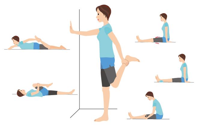「変形性ひざ関節症」の痛みは毎日のストレッチで軽減!/ひざ痛をその原因から解決!(3)