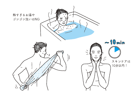 ボディソープは3日に1回⁉ 専門医が教える「美肌をつくる入浴法」6か条