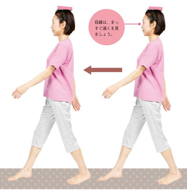 足裏のアーチを作ってぐんぐん歩ける足に!3つの「足ラクラク体操」