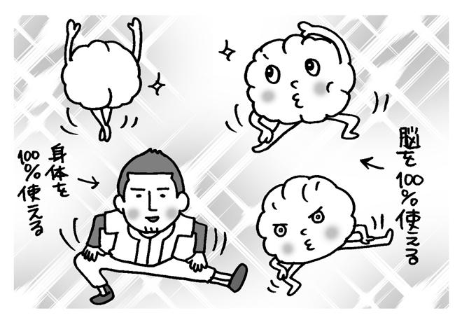 イチロー選手は試合前「脳のストレッチ」をしている⁉ 脳を覚醒させる習慣を身に付けよう/脳ストレッチ