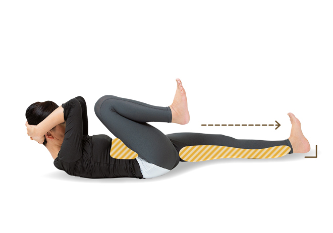 長年のクセが直る⁉ 骨盤や脚の歪みを整えるなら「足踏みストレッチ」/前新式寝たままリンパ体操