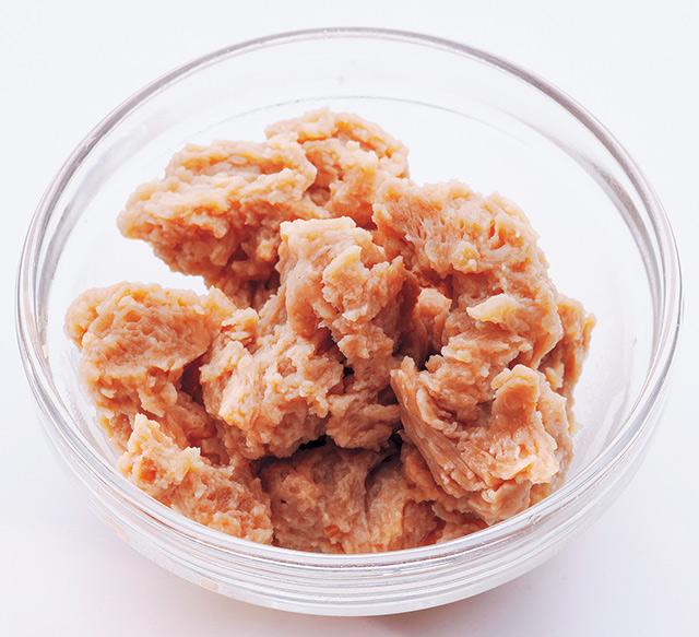 かつお粉やしょうがを加えてレンジでチン! ダイエット効果抜群「やせる大豆ミート」の作り方