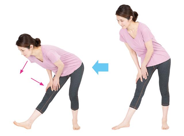 毎日15分続けて!ひざ機能を回復させる「2つの体操」