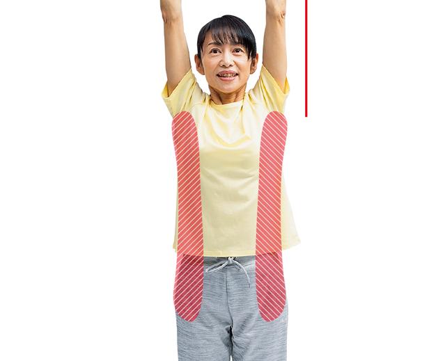 手指のトラブルを防ぐ! 腰を立てる、身体を引き延ばすストレッチ