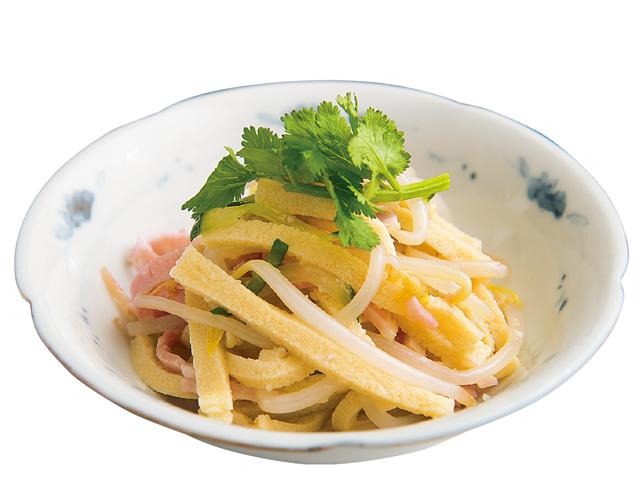 サラダに和え物。ヘルシーな高野豆腐を使ったササッとレシピ3品/乾物