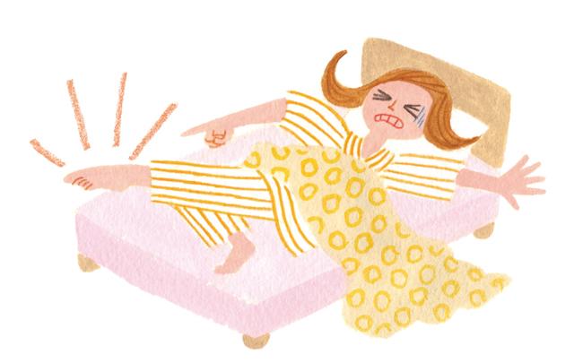睡眠中「こむらがえり」が起きる人は注意して!「下肢静脈瘤」5つの症状