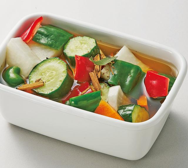 ピクルスに酢の物。たっぷり野菜+黒酢で作るヘルシーレシピ