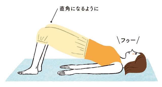 お尻をキュ! 筋肉を強めて「脊柱管狭窄症」を改善する「脊柱管1分体操」