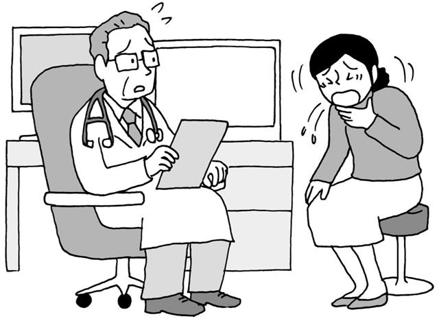 ただの風邪と思い込んでは危険! 60代からの女性に多い「気管支拡張症」をセルフチェック