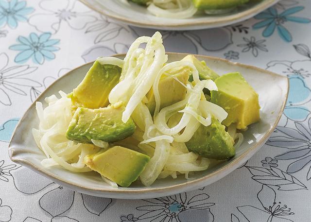 レンチン2分で食べやすく!「加熱玉ねぎ」で疲労回復サラダ&ハンバーグ/玉ねぎ