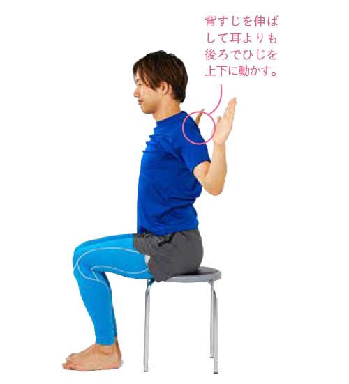 写真で見た背中のぜい肉にショック...! 背中の筋肉を有効に使う肩甲骨のストレッチ/激やせストレッチ(6)