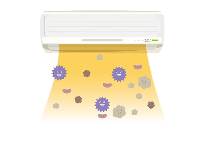 夏の「夏型過敏性肺炎」 予防にはカビ対策が必須!(4)