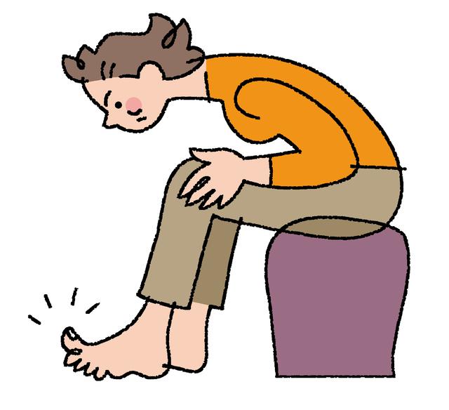 爪水虫症状 手