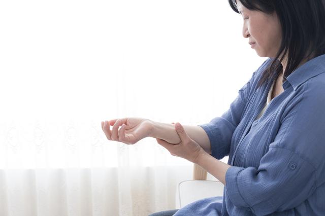 意外! 手指の痛み、腫れには更年期障害が関係しています/手指の痛み改善法(4)