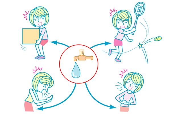 「もしかして今の、尿漏れ?」更年期以降の女性の外出時の悩みに備える!
