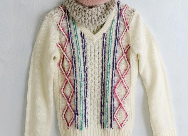 好きな色でリメイク! 無地のセーターを春色にイメチェン/洋輔さんの楽しいニットレッスン