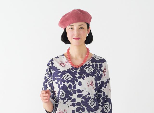 たっぷりゆったり。きもの地で作るチュニック&パンツ/高橋恵美子さんのきものリフォーム