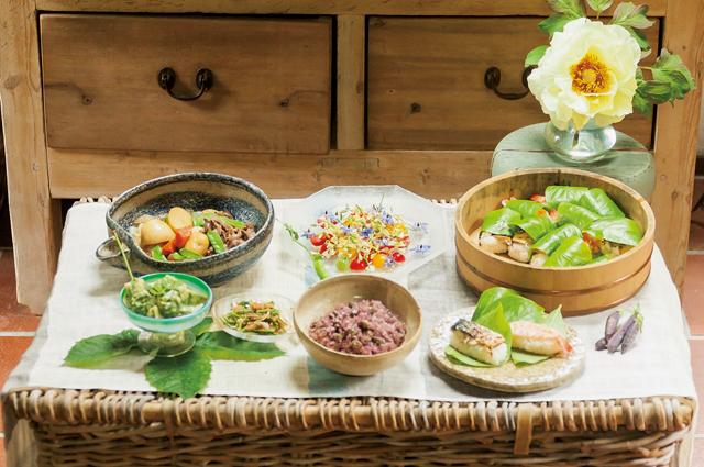 わが家の庭から摘んで作る幸せ。ガーデナー・水谷昭美さんのルッコラの花のサラダ