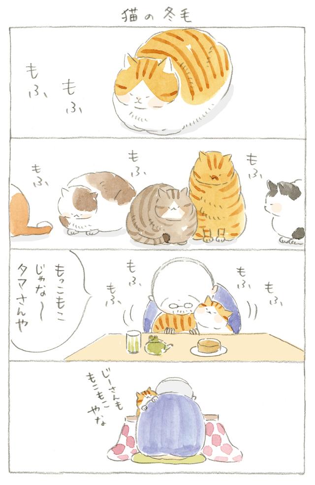 本日映画公開!】猫の冬毛~ねことじいちゃん ほっこり癒される猫との ...