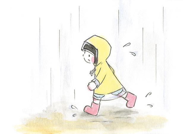 「ねこが顔を洗うと雨になる」そう聞いた小梅さんが向かった場所は.../梅さんと小梅さん(10)