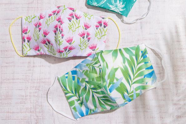 キャシー中島さんの「夏も使える布マスク」の作り方