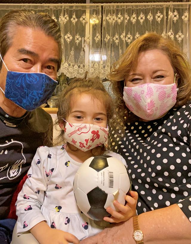キャシー中島 手作り マスク