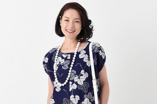 1枚の浴衣がワンピースに! 高橋恵美子さんの、手ぬいできものリフォーム