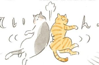 若猫のナゾの遊び~ねことじいちゃん ほっこり癒される猫との暮らし(50)【連載】