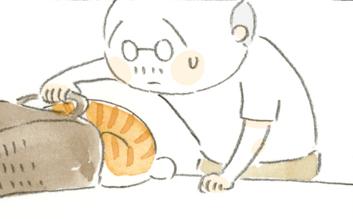 「いつもそこにいる」~ねことじいちゃん ほっこり癒される猫との暮らし(43)