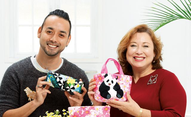 大切な人に贈るなら毎日使える小物がいちばん!キャシー中島&洋輔親子の手作りギフト