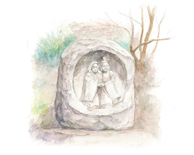 「プレバト!!」出演、画家・野村重存さんの解説で楽しく上達! 鉛筆スケッチ入門「夫婦道祖神」