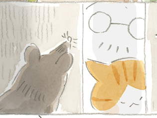 嫁が君~ねことじいちゃん ほっこり癒される猫との暮らし(48)【連載】