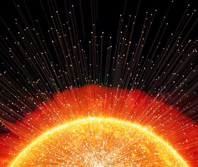 超高温の太陽は「燃えている」わけではない/地球の雑学