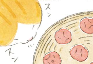 「タマと梅干し」タマ、大吉じいちゃんを疑う・・・? ~ねことじいちゃん ほっこり癒される猫との暮らし(54)【連載】