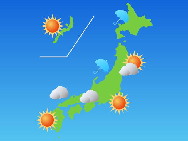 「降水確率」は雨の強さや雨量とは関係ない/地球の雑学