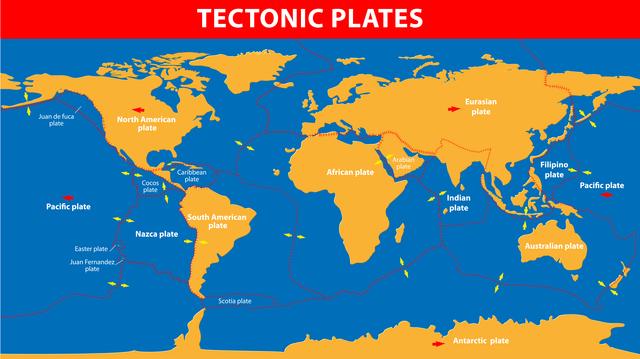 2億5000万年後、世界は一つの大陸になる !?/地球の雑学